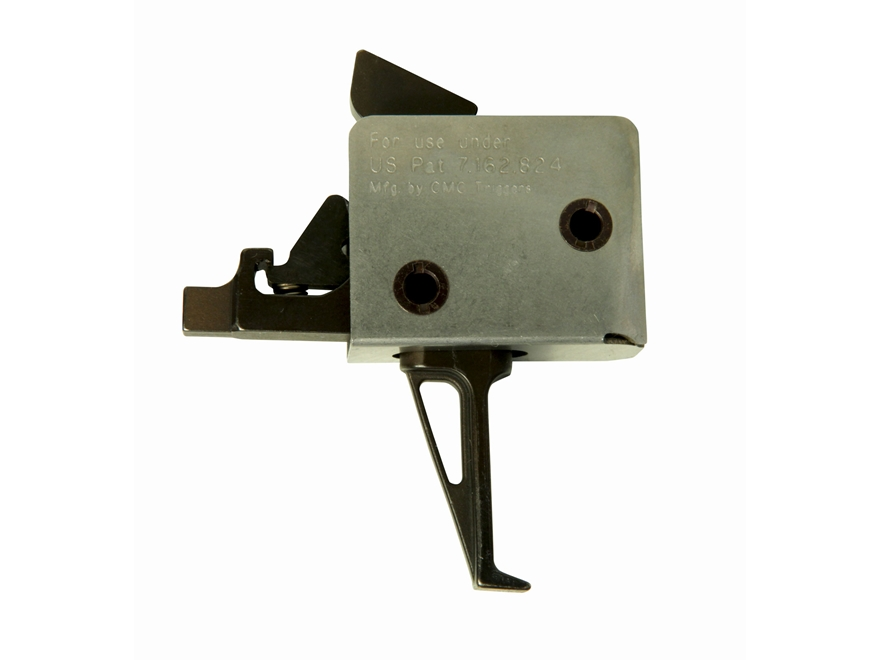 "CMC Triggers 2-2 Match Grade Drop-In Trigger Group AR-15, LR-308 Small Pin .154"" Two Stage Matte"