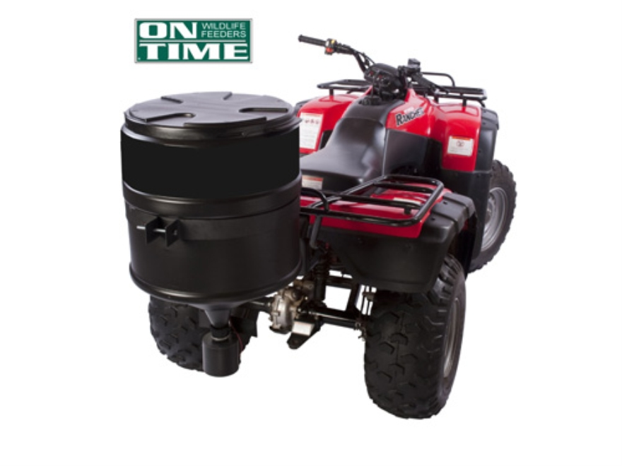 On Time Bumper Buddy ATV Spreader with Electronic Valve