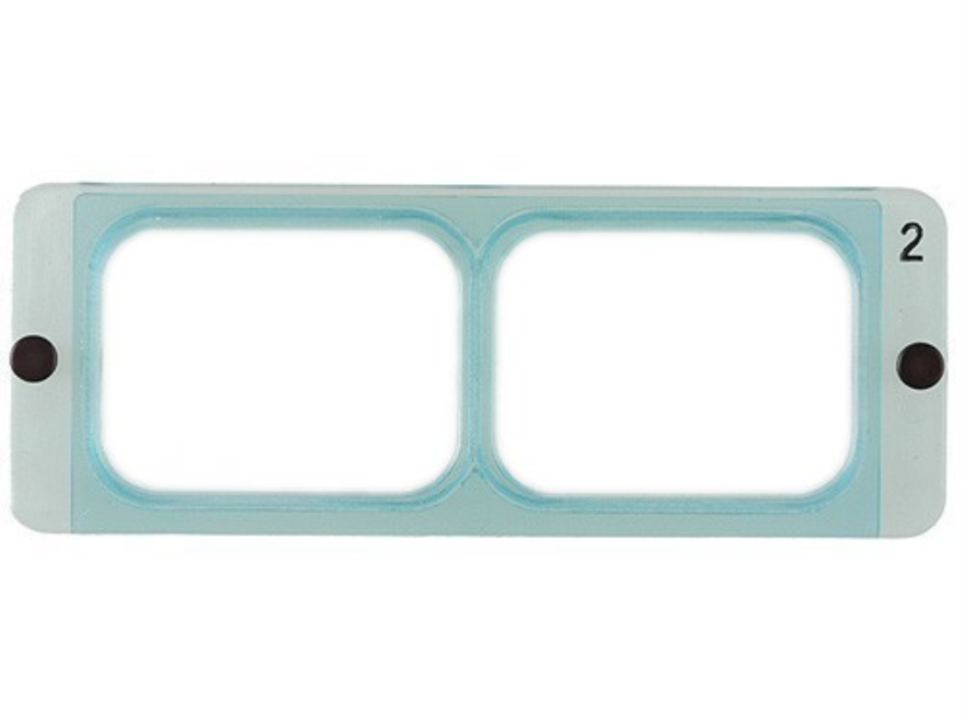 Donegan Optical OptiVISOR Magnifying Headband Visor Replacement Lens Plate 1-1/2X at 20""