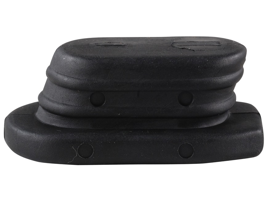 ERGO Pistol Grip Plug for Standard Grip AR-15 A2 Rubber Black