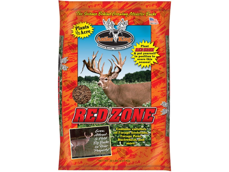 Antler King Red Zone Food Plot Seed 20 lb