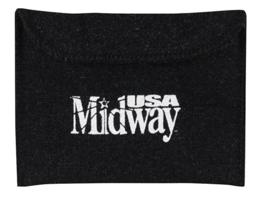 MidwayUSA Silicone-Treated Pistol Gun Case Dark Gray 6""