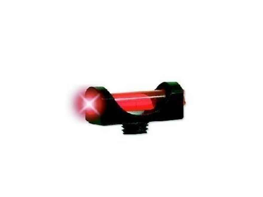 "Marble's Expert Shotgun Front Bead Sight .094"" Diameter 6-48 Oversize Thread 3/32"" Shank Extra-Lum Fiber Optic"