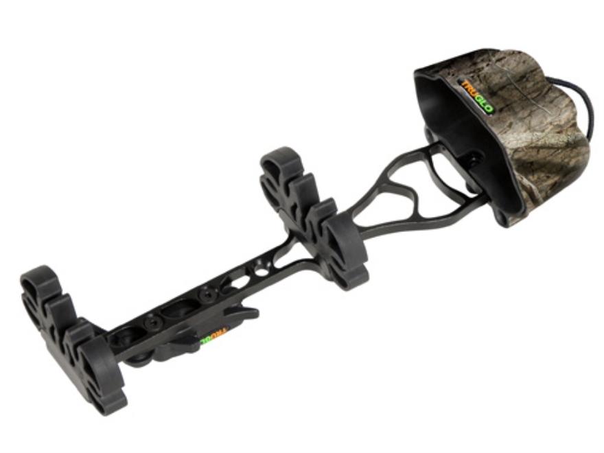 TRUGLO Tru-Tec 5-Arrow Detachable Bow Quiver Aluminum and Polymer Mossy Oak Break-Up Infinity Camo