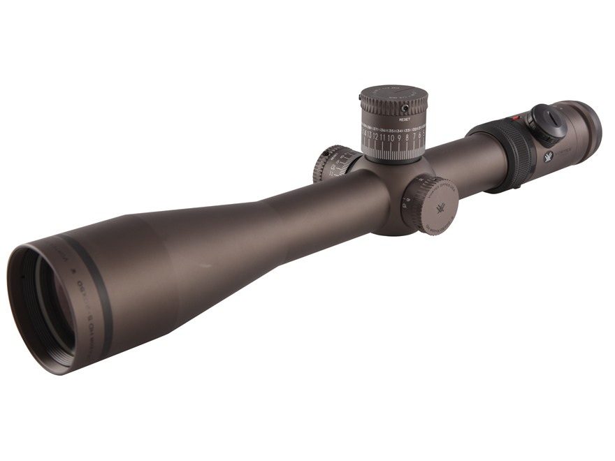 Vortex Razor HD Rifle Scope 35mm Tube 5-20x 50mm Side Focus (25 MOA/Rev) First Focal Illuminated Stealth Shadow Black