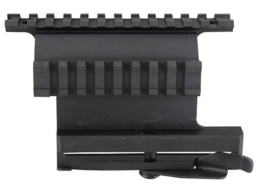 Leapers UTG 5th Generation Quick Detachable Picatinny-Style Double Rail Mount AK-47 Matte