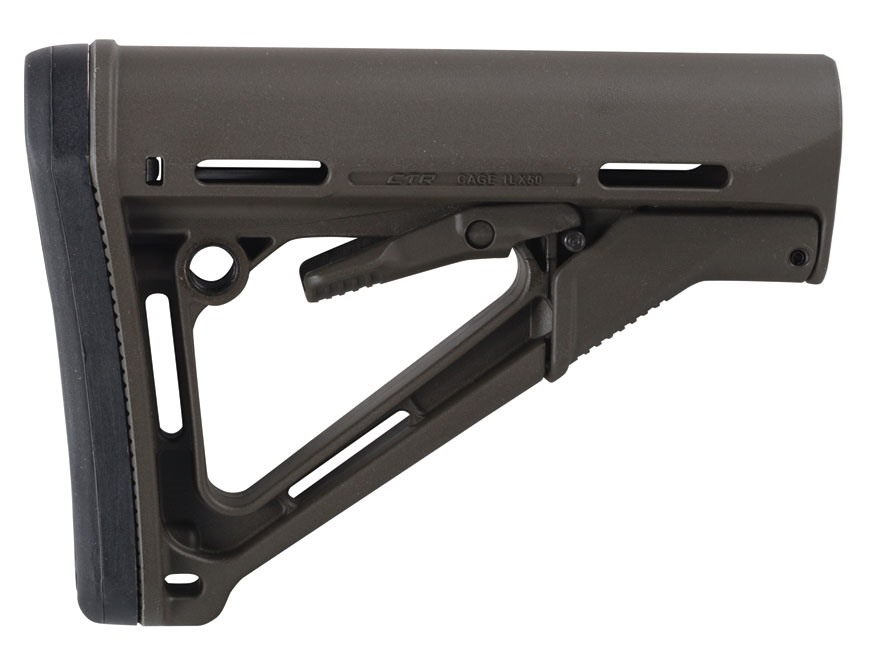 Magpul Stock CTR Collapsible AR-15 Carbine Synthetic