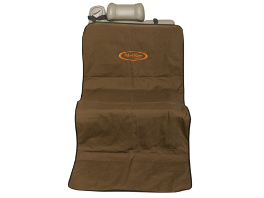 "Mud River Shotgun Dog Utility Mat 68"" x 29"" Nylon Brown"
