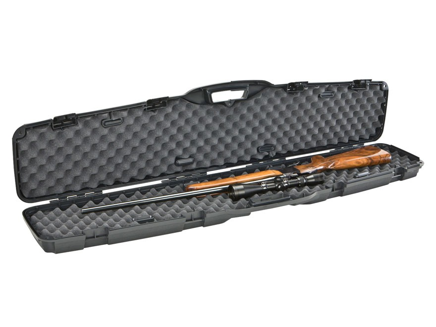 "Plano Protector Pro-Max Scoped Rifle Gun Case 53-1/4"" x 12"" x 4-1/8"" Polymer Black"