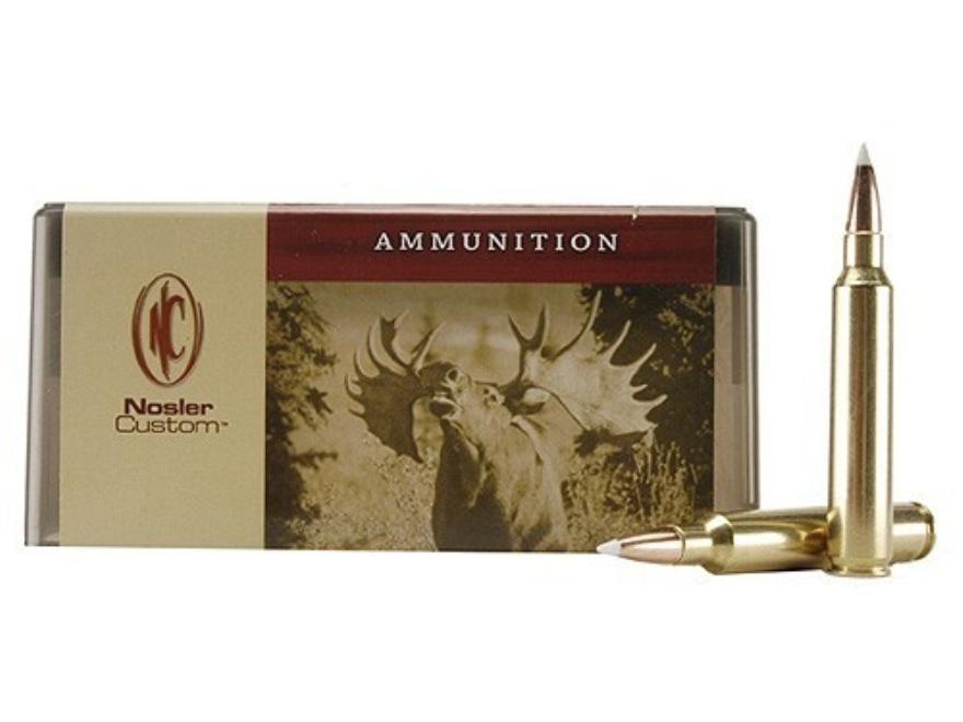Nosler Custom Ammunition 300 Remington Ultra Magnum 200 Grain AccuBond Spitzer Box of 20