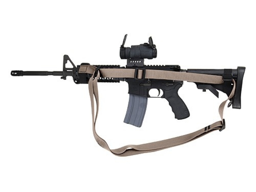 Wilderness Tactical Giles Sling AR-15 Collapsible Buttstock Oval Handguard