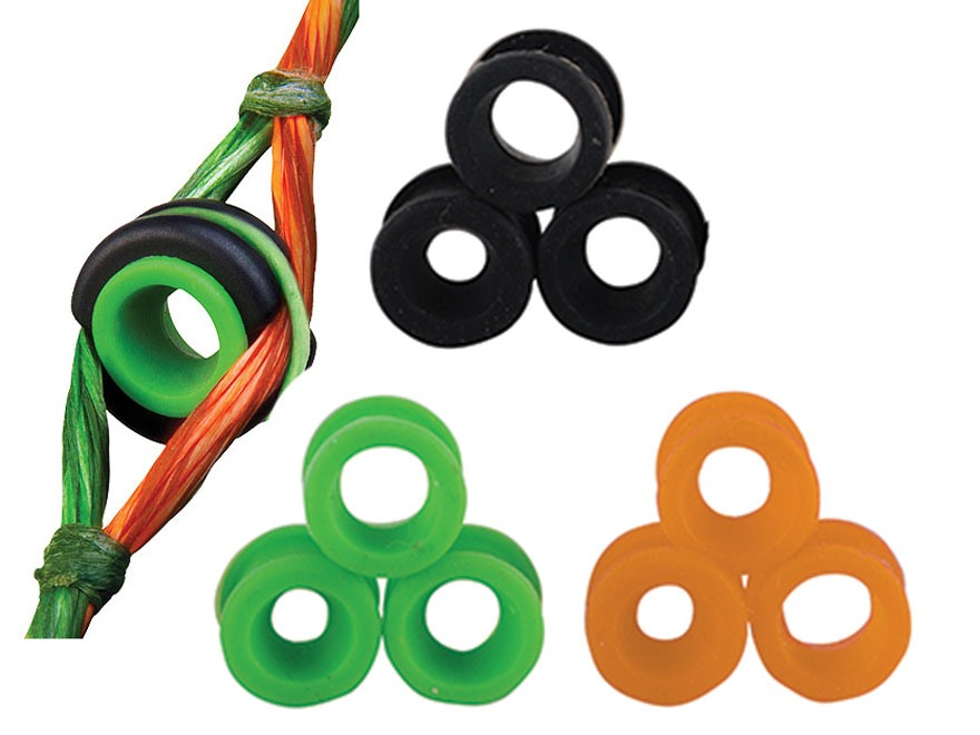 Apex Gear Versa Peep Sight System Green, Orange and Black