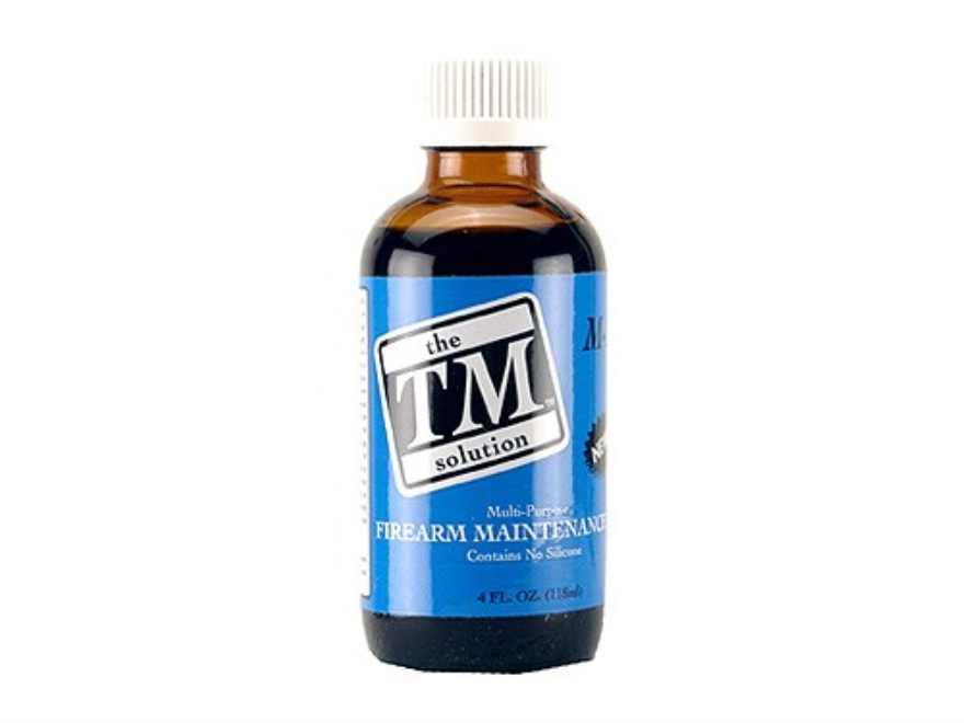 The TM Solution TM Firearm Maintenance Gun Oil 4 oz Liquid
