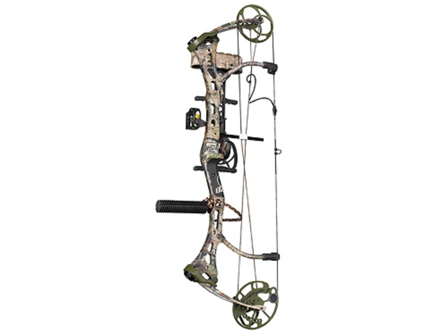 "Bear Mauler RTH Compound Bow Package Right Hand 60-70 lb. 28""-30"" Draw Length Realtree APG Camo"