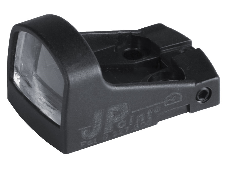 JP Enterprises JPoint Micro Electronic Red Dot Sight 8 MOA Dot Reticle