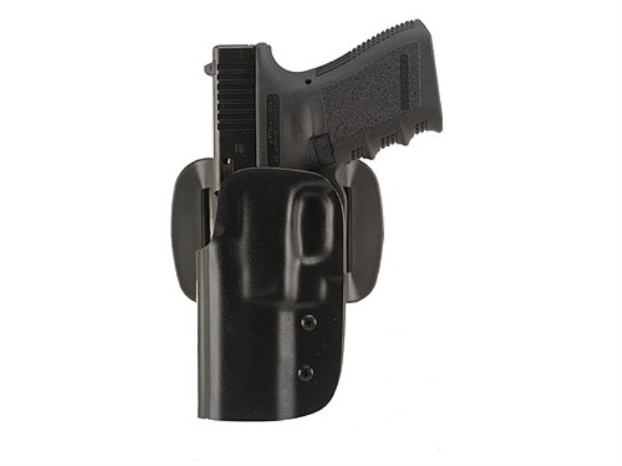 "Blade-Tech DOH Dropped and Offset Belt Holster Springfield XD 45 ACP Service 4"" ASR Loop Kydex Black"