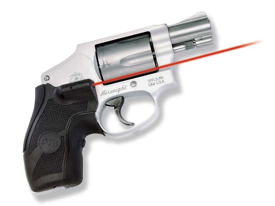 Crimson Trace Lasergrips S Amp W Round Butt J Frame Revolver