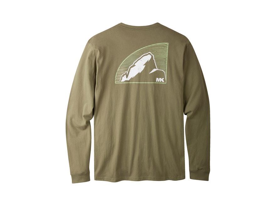Mountain khakis men 39 s topo peak t shirt long sleeve for Mountain long sleeve t shirts