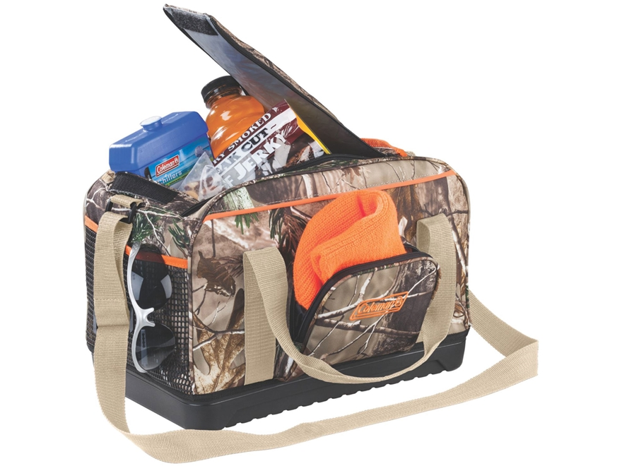 Camo Soft Cooler ~ Coleman camo duffel soft sided cooler realtree ap