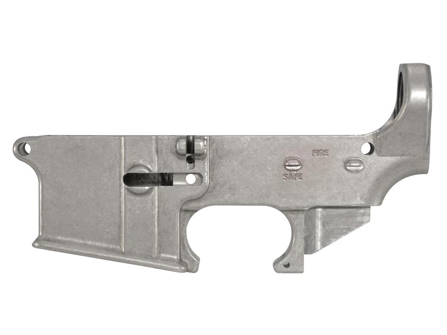 AR-Stoner 80% Lower Receiver AR-15 Aluminum the White