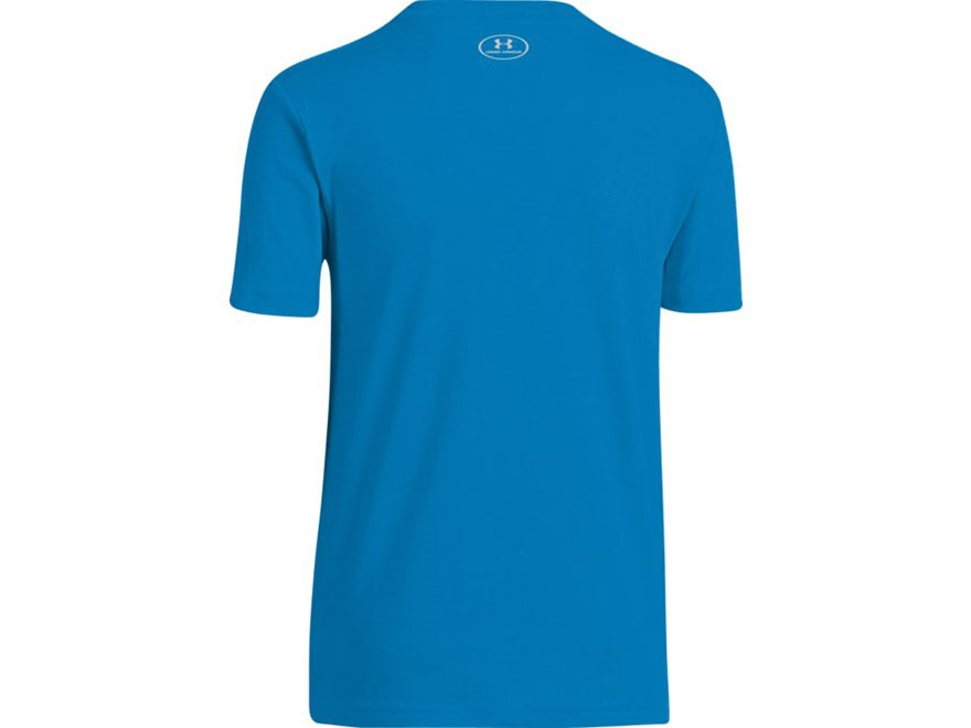 Product detail of under armour youth antler short sleeve t for Under armour swim shirt youth