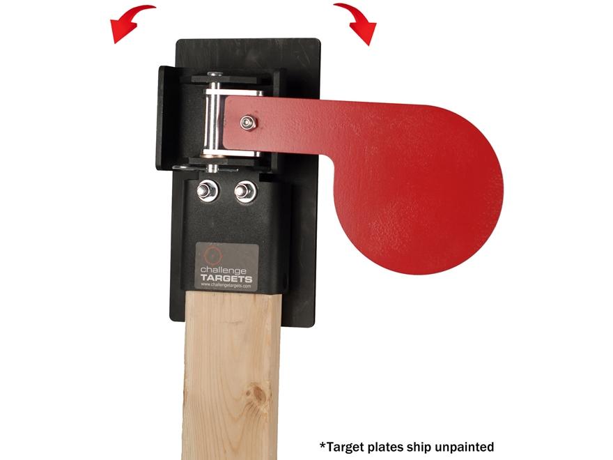 Challenge Target Paddle Target Rectangular Stop Plate