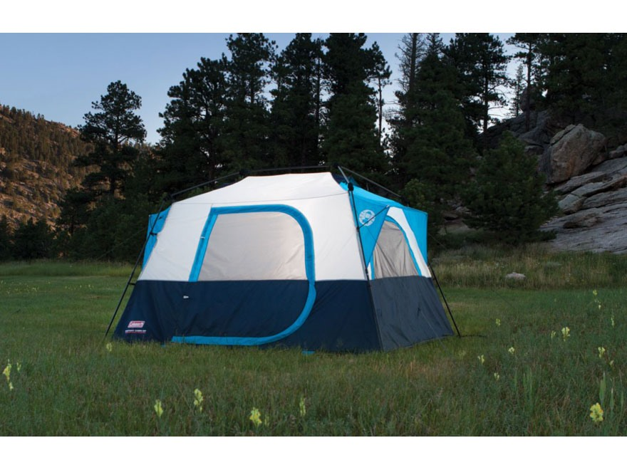 Cabin Tent Polyester Blue & Coleman Cabin Tent images