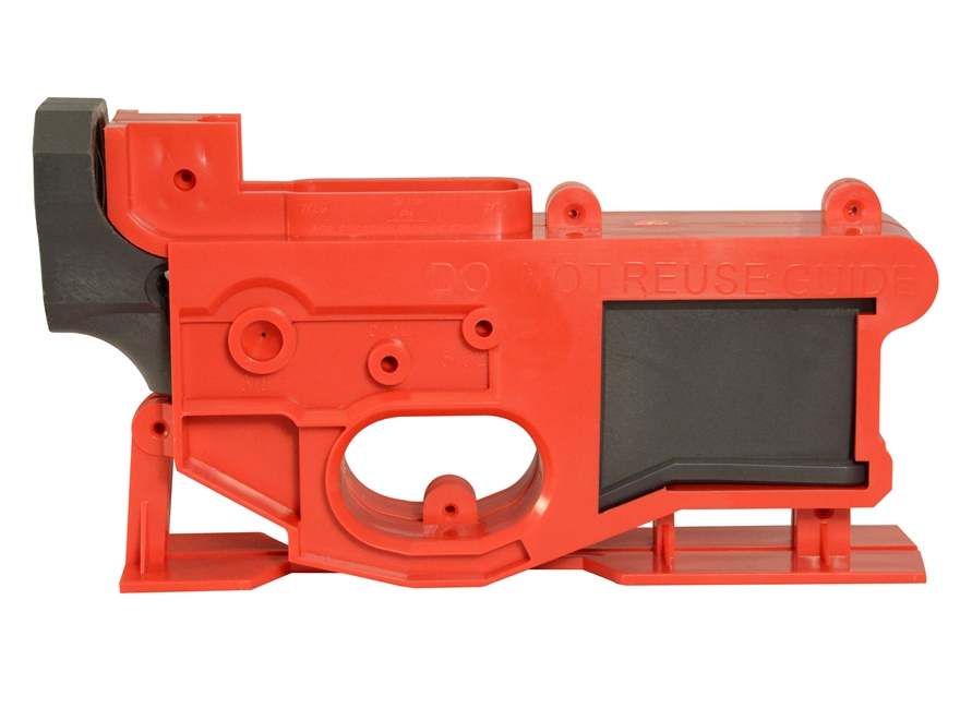 AR-15 _ 80% complete kit including jig & tools for $59 95