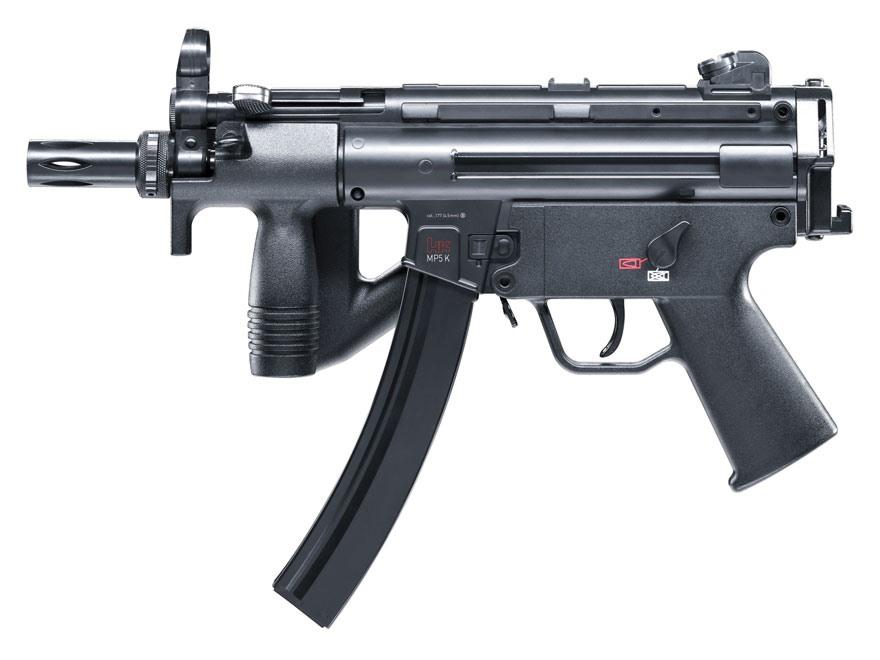 K 11 Gun HK MP5k-PDW CO2 Air Ri...