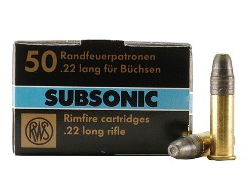 22 Long Rifle Ammo in Stock