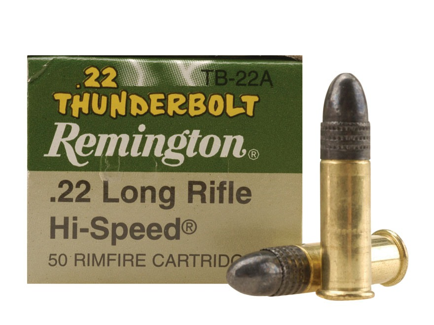 Product detail of Remington Thunderbolt Ammunition 22 Long ...