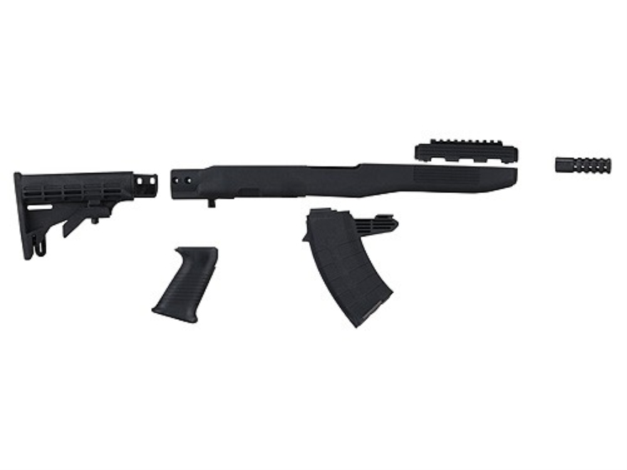 Tapco intrafuse collapsible stock compliance kit 20 round mag sks cut