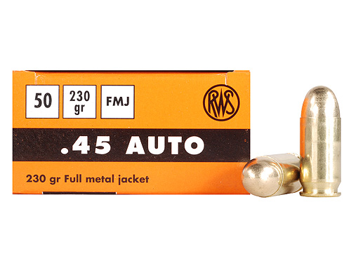 RWS .45 ACP Sport Line 230 gr. FMJ Reviews