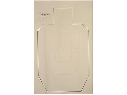 target practice paper. National Target Practice IPSC