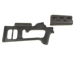 Advanced Technology Fiberforce Stock AK-47, MAK-90, Maadi 7.62x39mm Russian Standard Barrel Channel Synthetic Black
