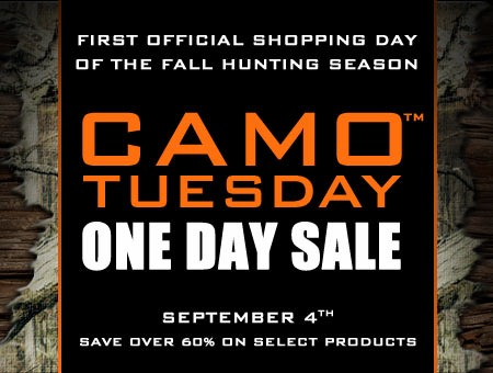 September 4th Camo Tuesday