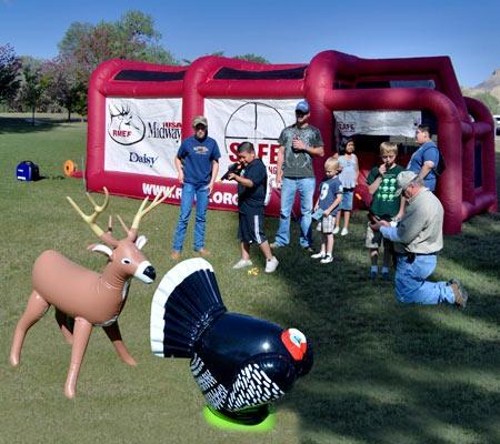4th Annual Outdoor Heritage Day at Riverbend Park in Palisade, Colorado (photo courtesy of Colorado RMEF)