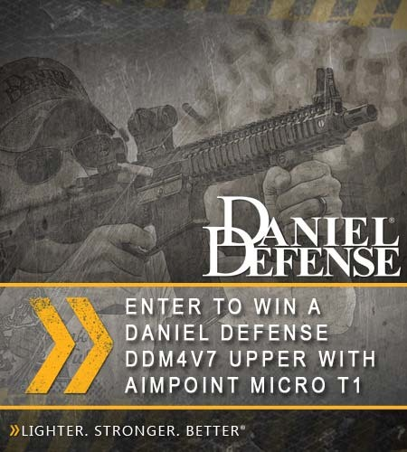 Daniel Defense Sweepstakes