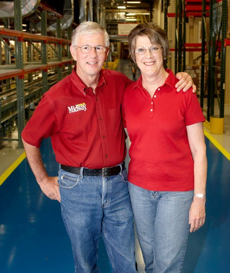 MidwayUSA Founders Larry & Brenda Potterfield