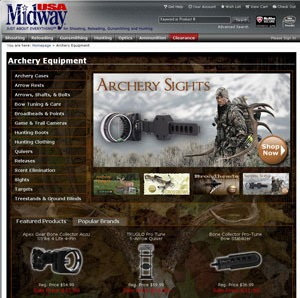MidwayUSA Archery Product Line