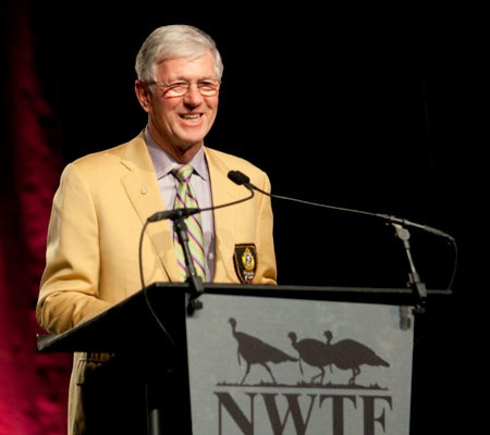 MidwayUSA founder Larry Potterfield at the 2012 NWTF Saturday Night Banquet (photo courtesy of NWTF)