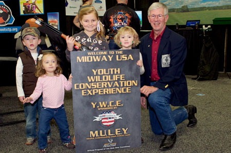 MidwayUSA Founder and CEO Larry Potterfield at the 2012 WHCE Show