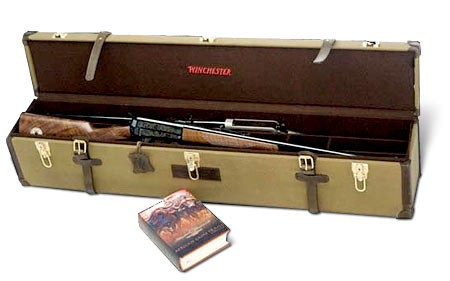 Winchester Model 1895 Safari Centennial Rifle Set (photo courtesy of the RMEF)