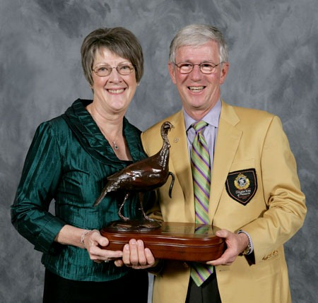 Brenda and Larry Potterfield at the 2012 NWTF Convention (courtesy of the NWTF)