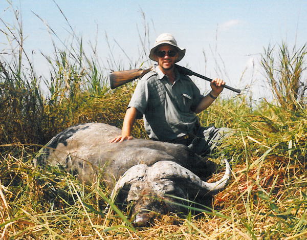 A cape buffalo is one of the great trophies of Africa and you will never forget the first one.