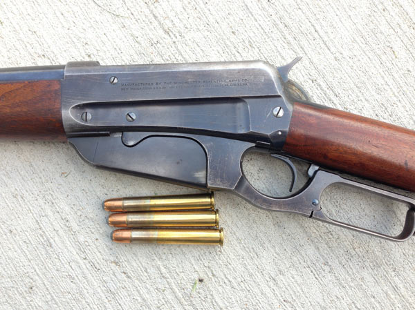 My Winchester Model 1895 in 405 Winchester, serial # 47346 – made in 1904.