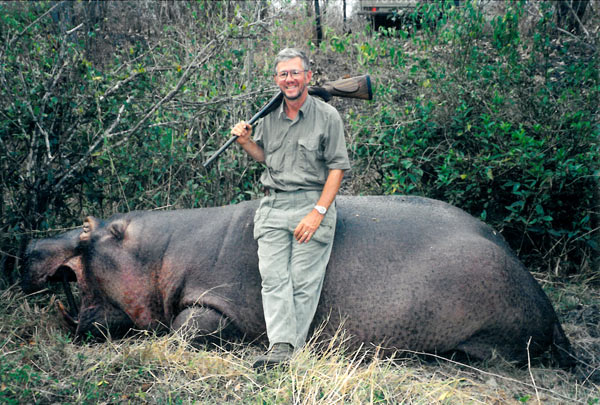 This is a large hippo, but they get even bigger.