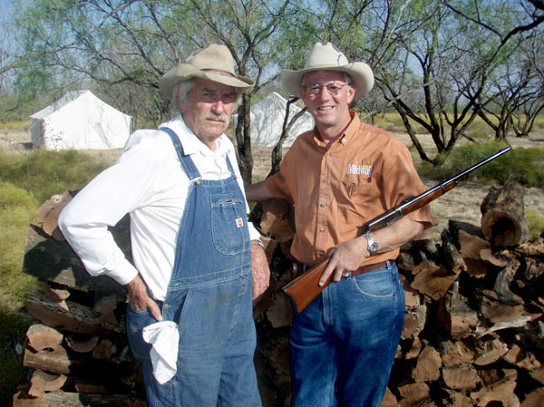 Bill Cauble is the real deal; his chuck wagon meals  and storytelling are legendary.  My rifle is a  Winchester Model 1894 SRC in 30-30.