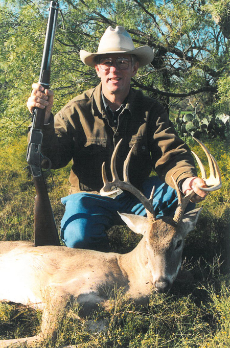 A decent 10 point whitetail taken with a  Winchester 1873, made in 1892.