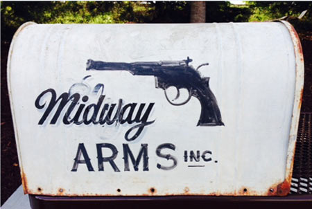 Looking closely, you can see that the name Midway was painted over the original name of Ely.